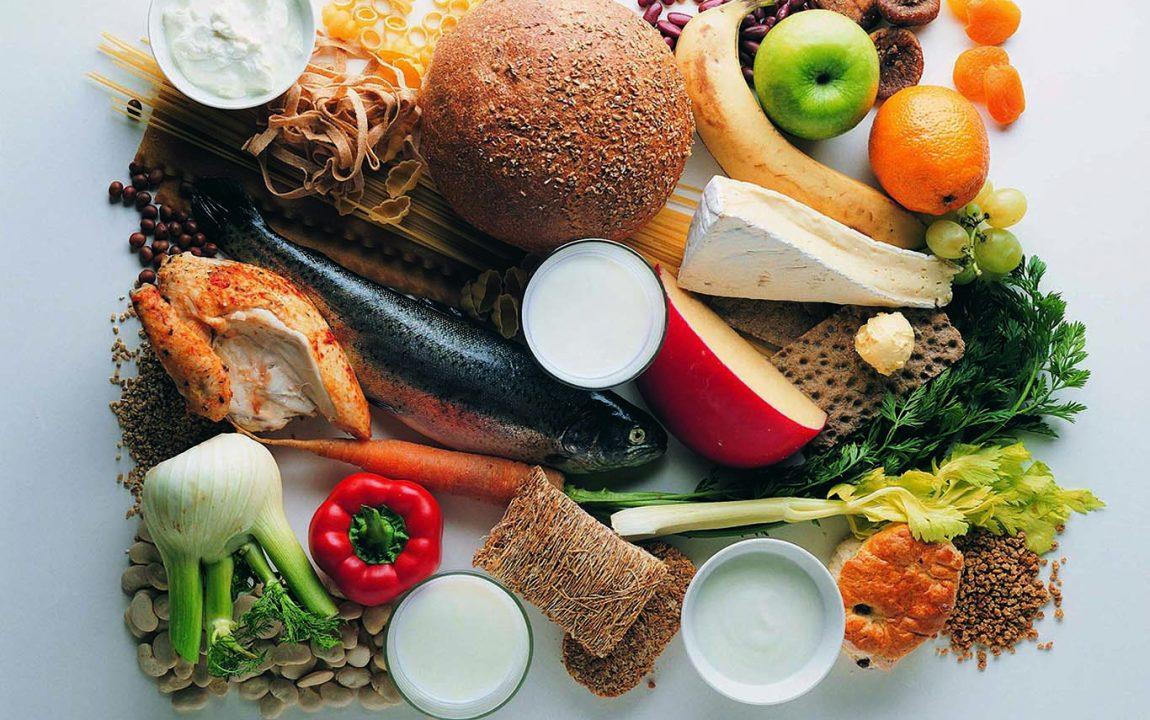Полезные продукты для здорового питания