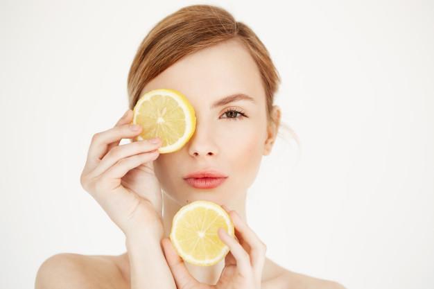 Пилинг лица с кислотами йогурта и лимона