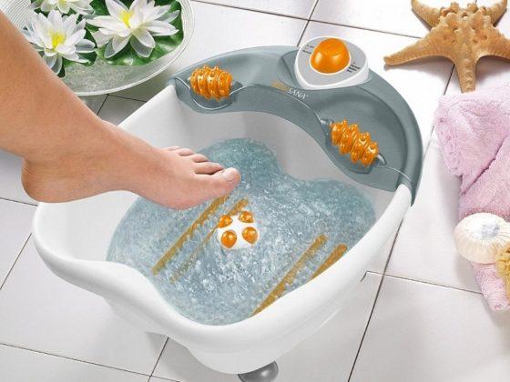 Выбираем гидромассажную ванночку для ног