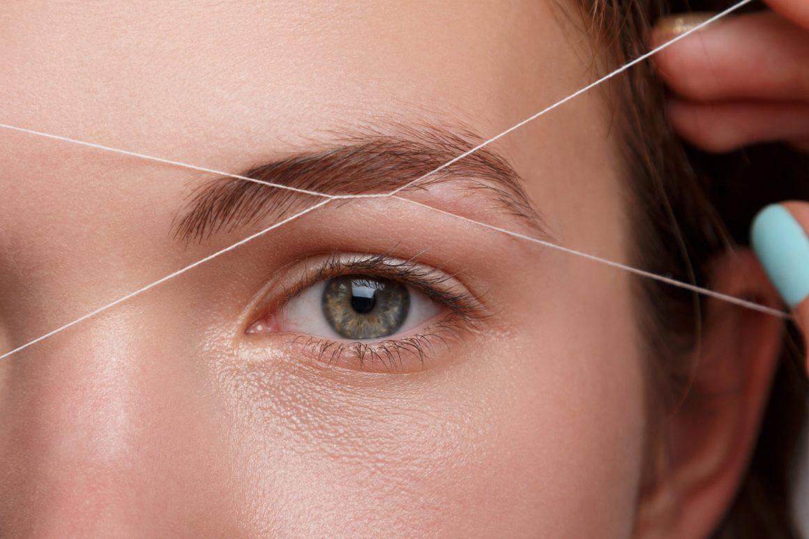 Эпиляция нитками - способ удаления нежелательных волос